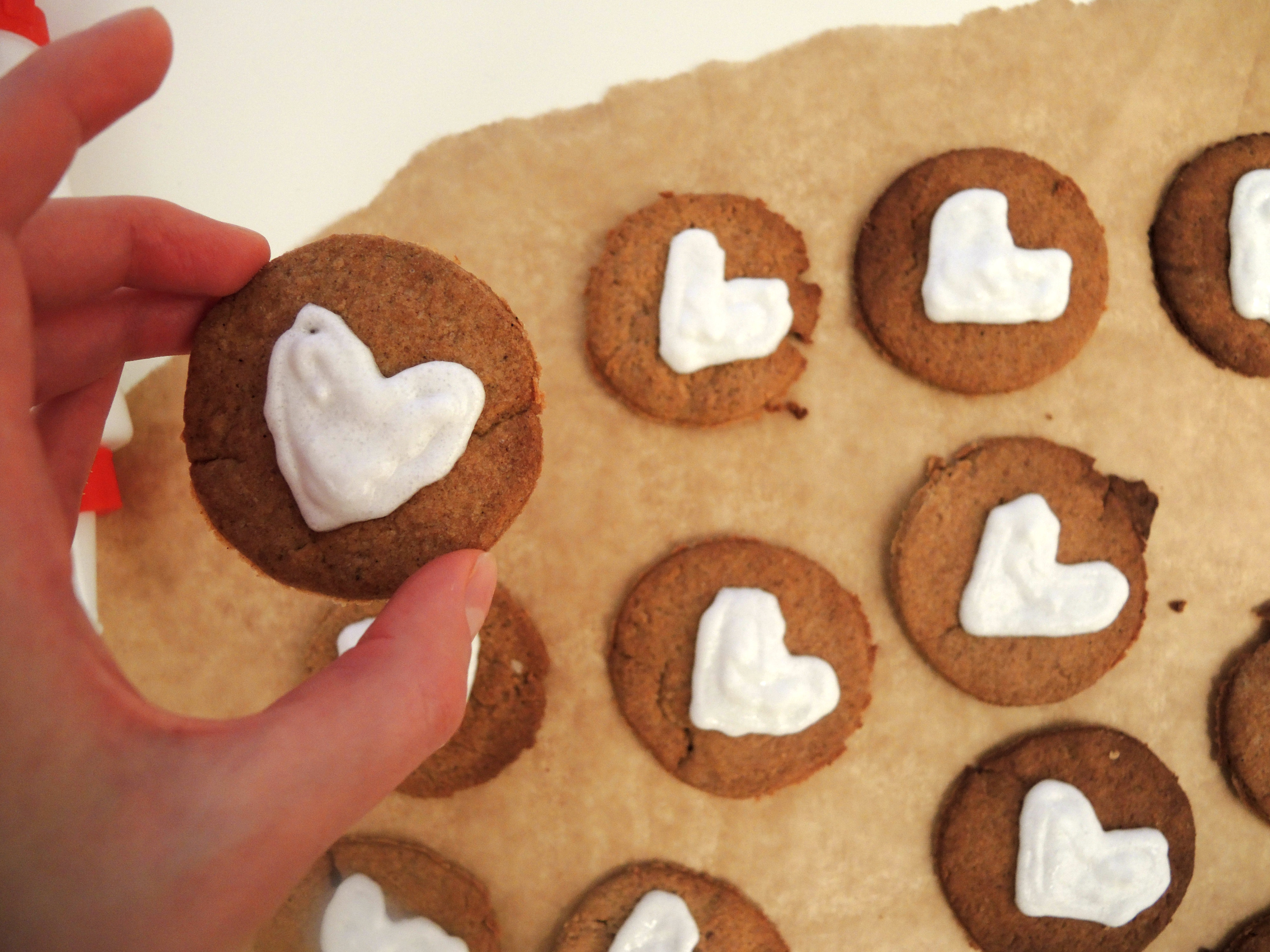 Walentynkowe Ciasteczka Pierniczkowe