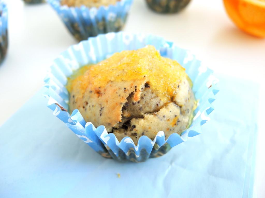 bananowo-pomarańczowe muffinki