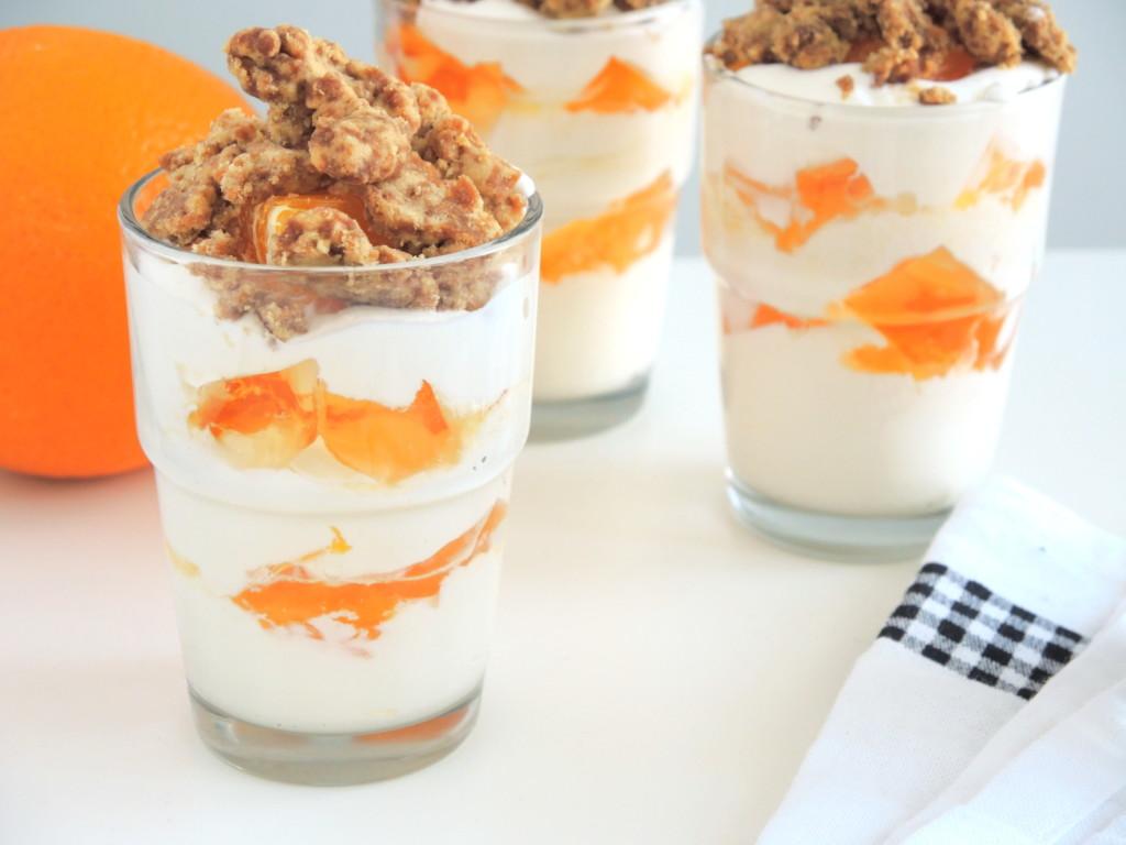 pomarańczowy deser