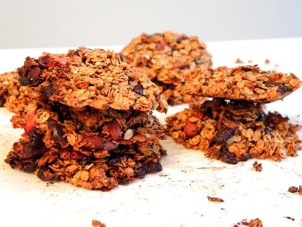 śniadaniowe zdrowe ciasteczka3