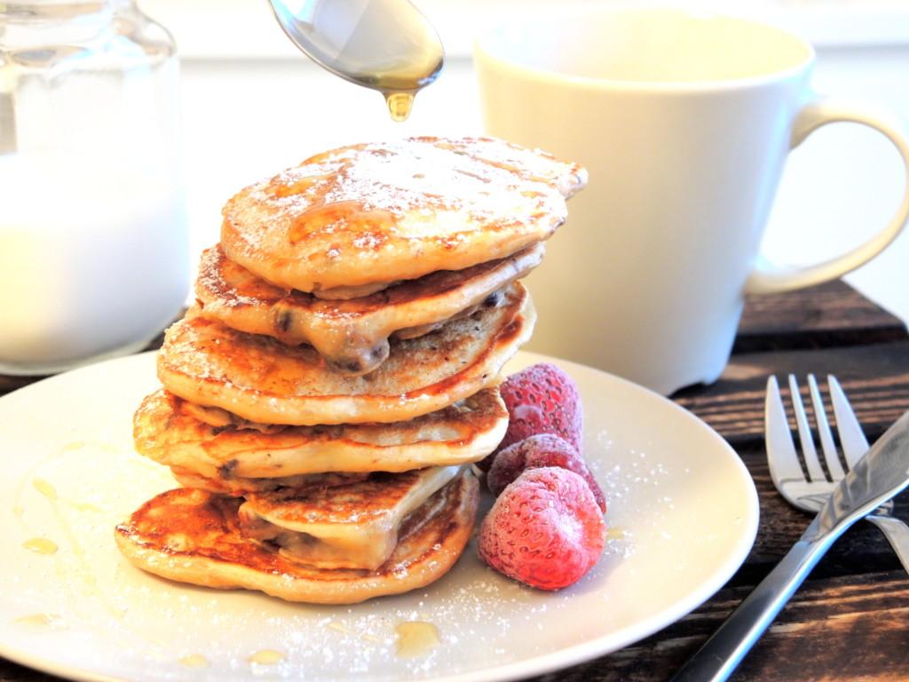 maślane pancakes