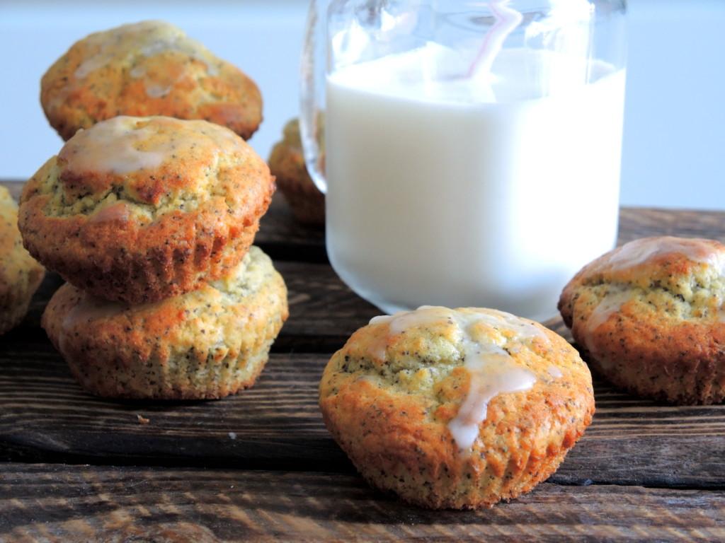 cytrynowo-makowe muffinki