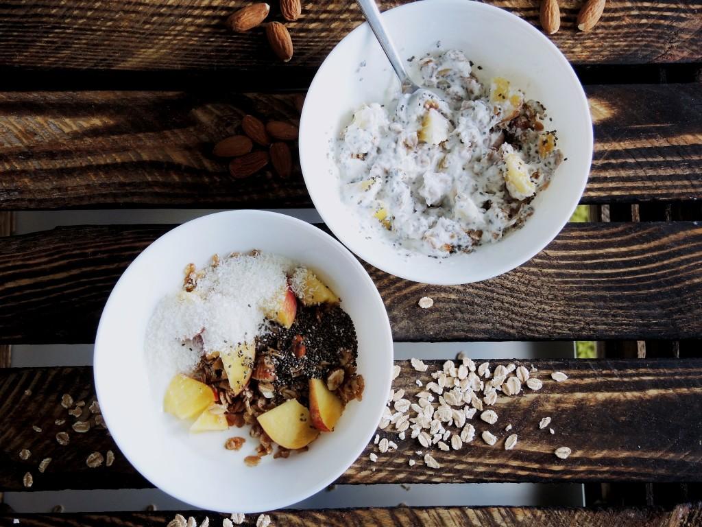 miodowo-migdałowa granola