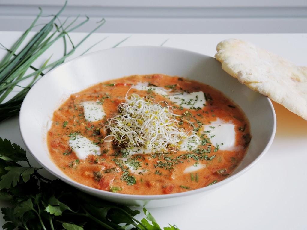 zupa indyjska