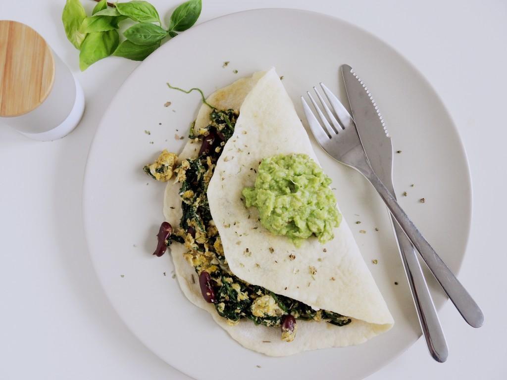 Śniadaniowa Quesadilla