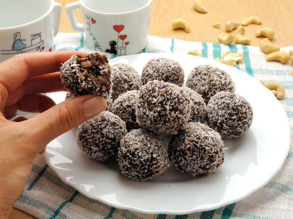 kakaowo-orzechowe trufelki