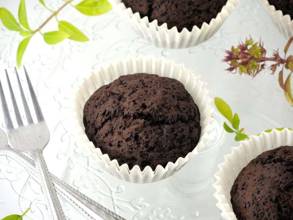 buraczane muffinki