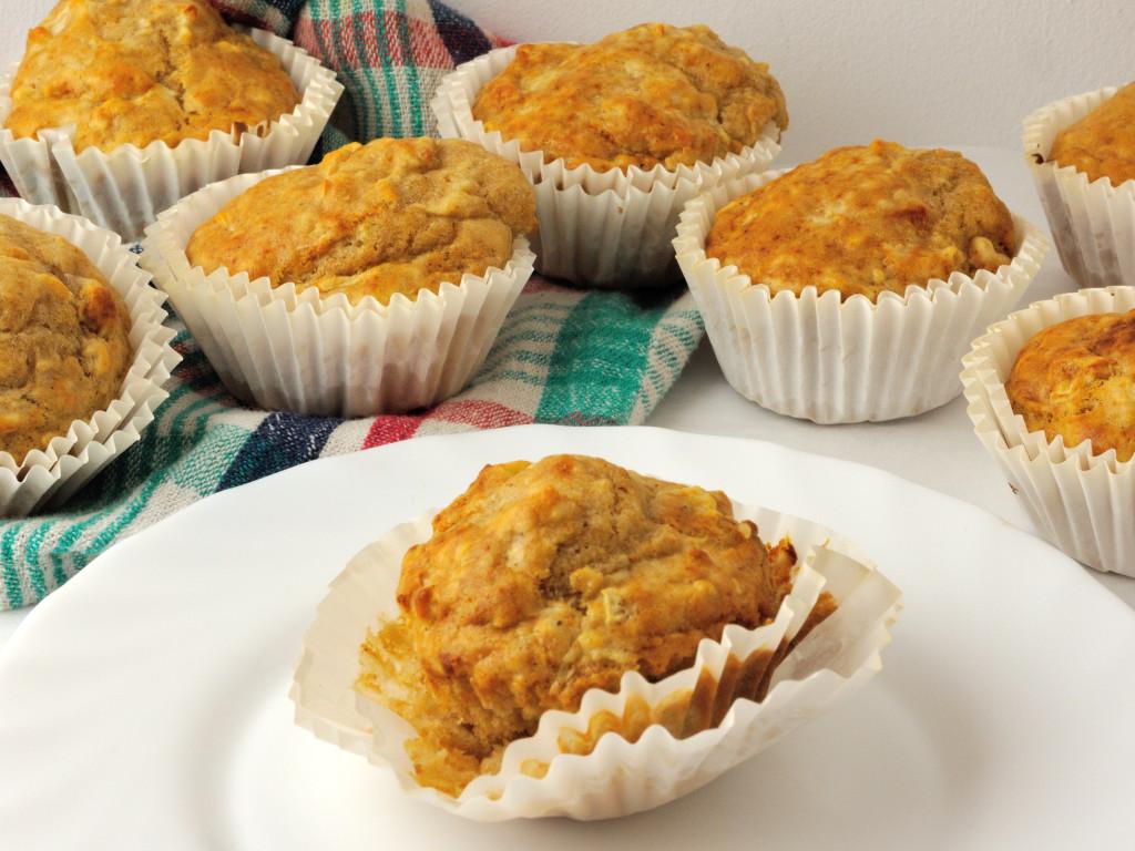 jabłkowo-miodowe muffinki