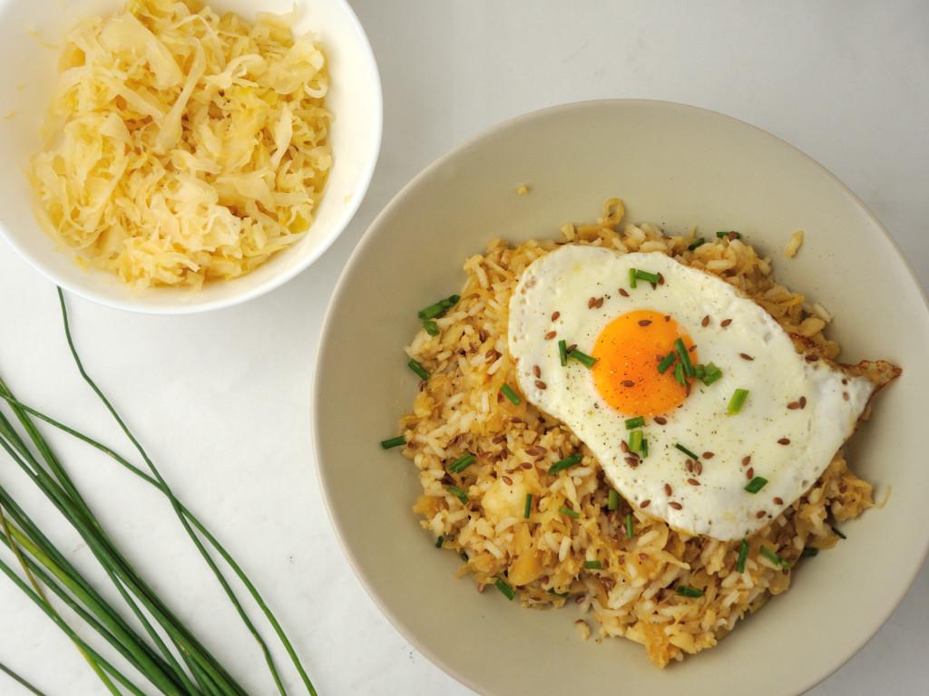 ryż z kapustą