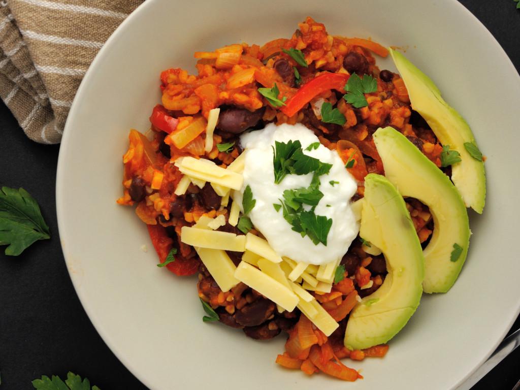 wegetariańskie chili