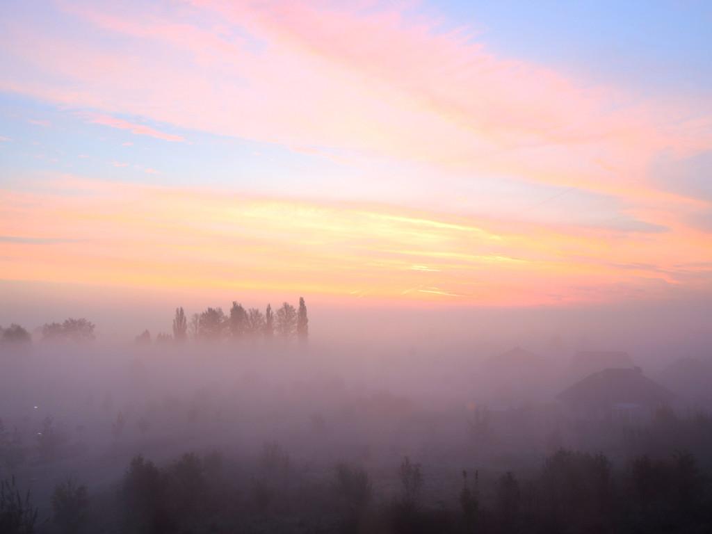 wschód słońca pruszcz gdański