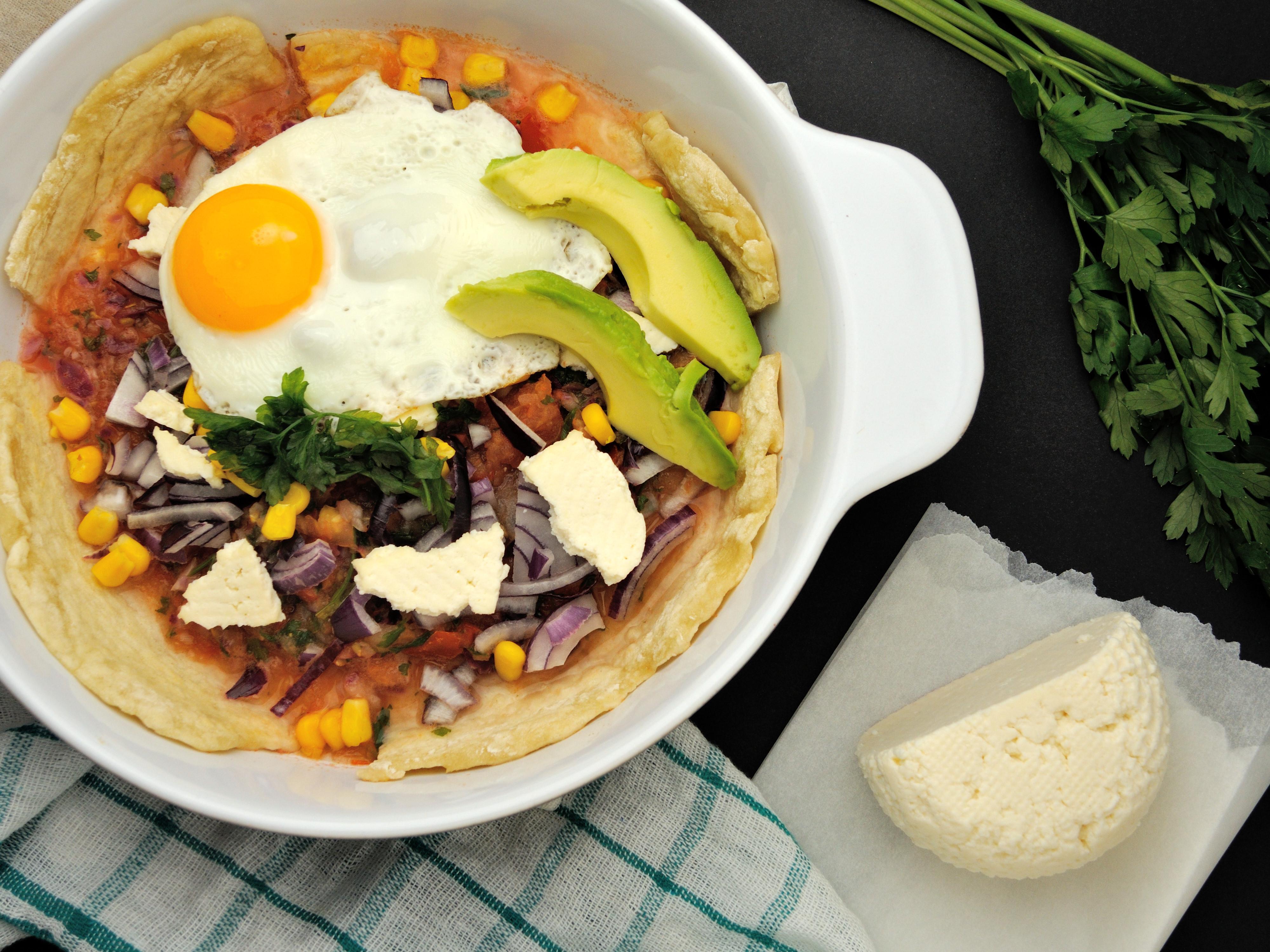 Pieczone Chilaquiles