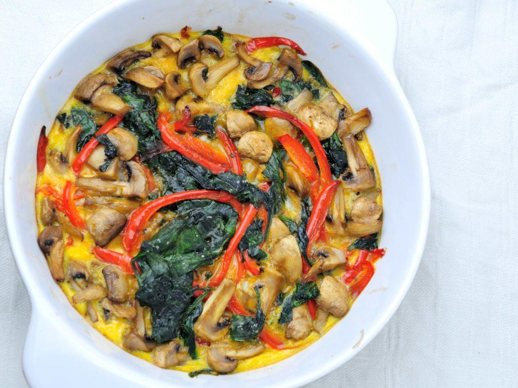 warzywno-grzybowa-frittata