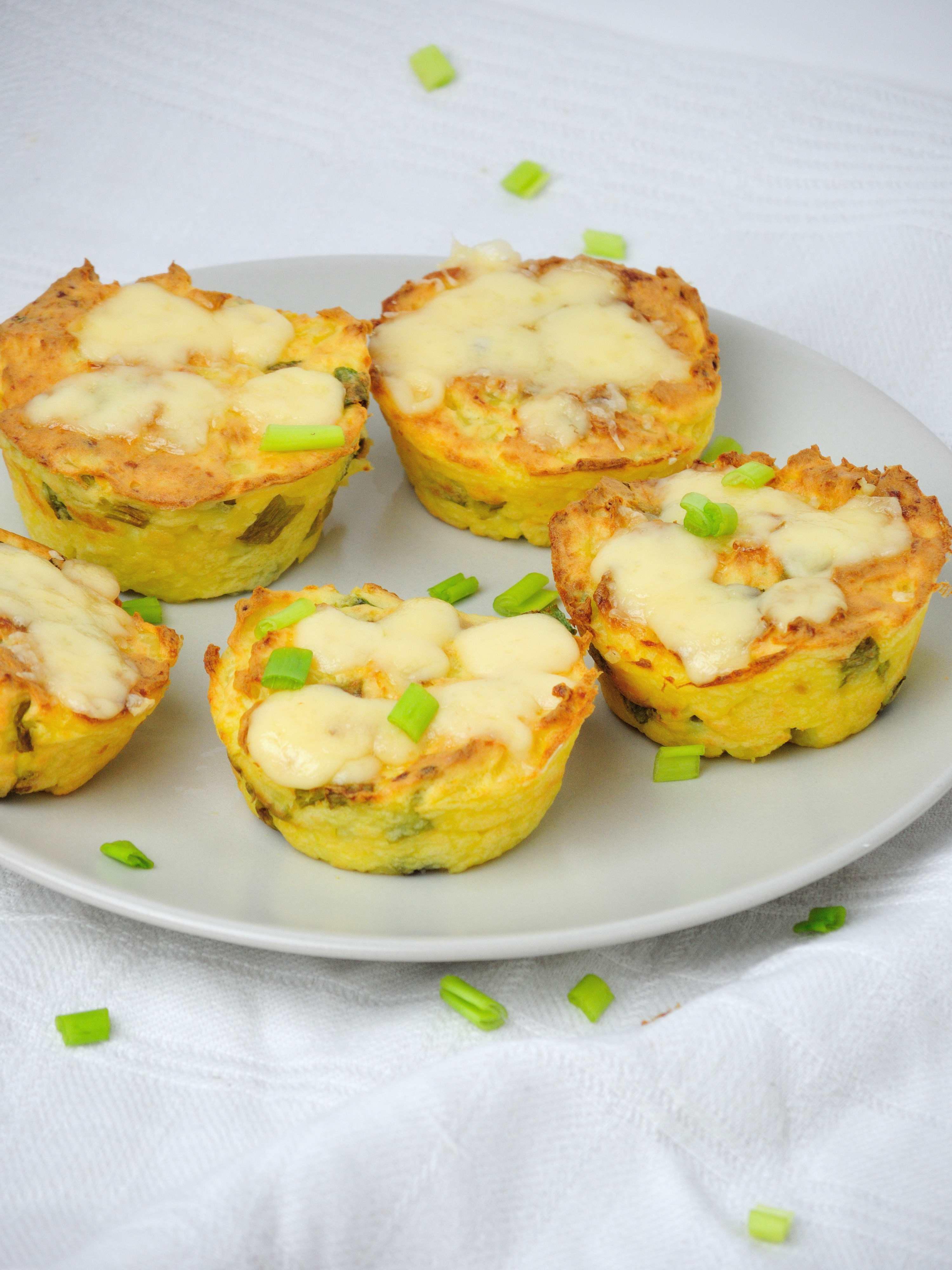 Babeczki z ziemniaków i sera