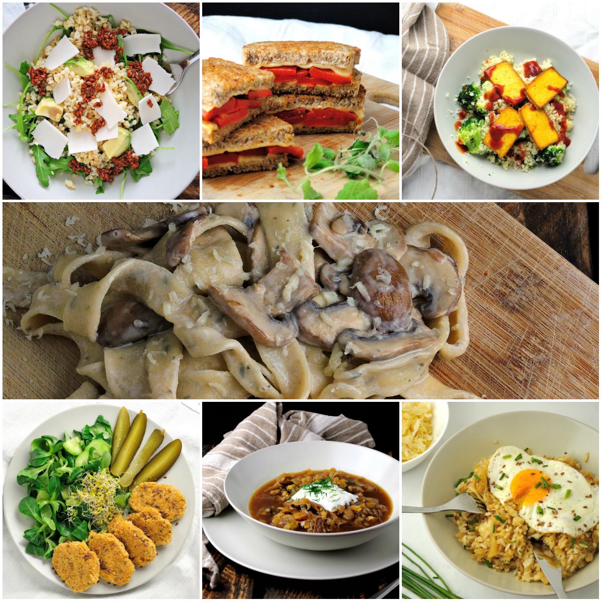 7 pomysłów na 30-minutowe wege obiady