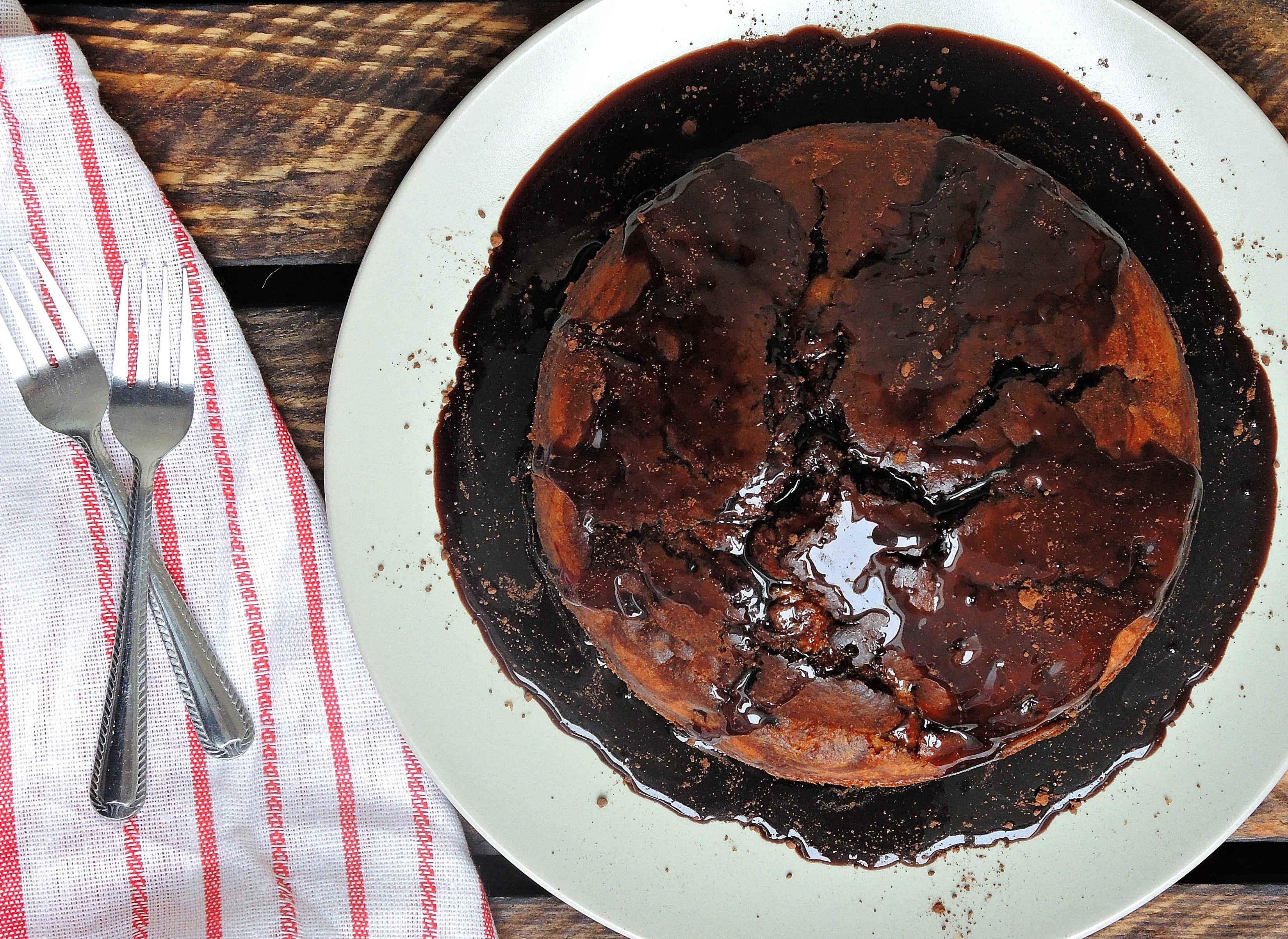 """""""Egzotyczne"""" ciasto czekoladowe"""