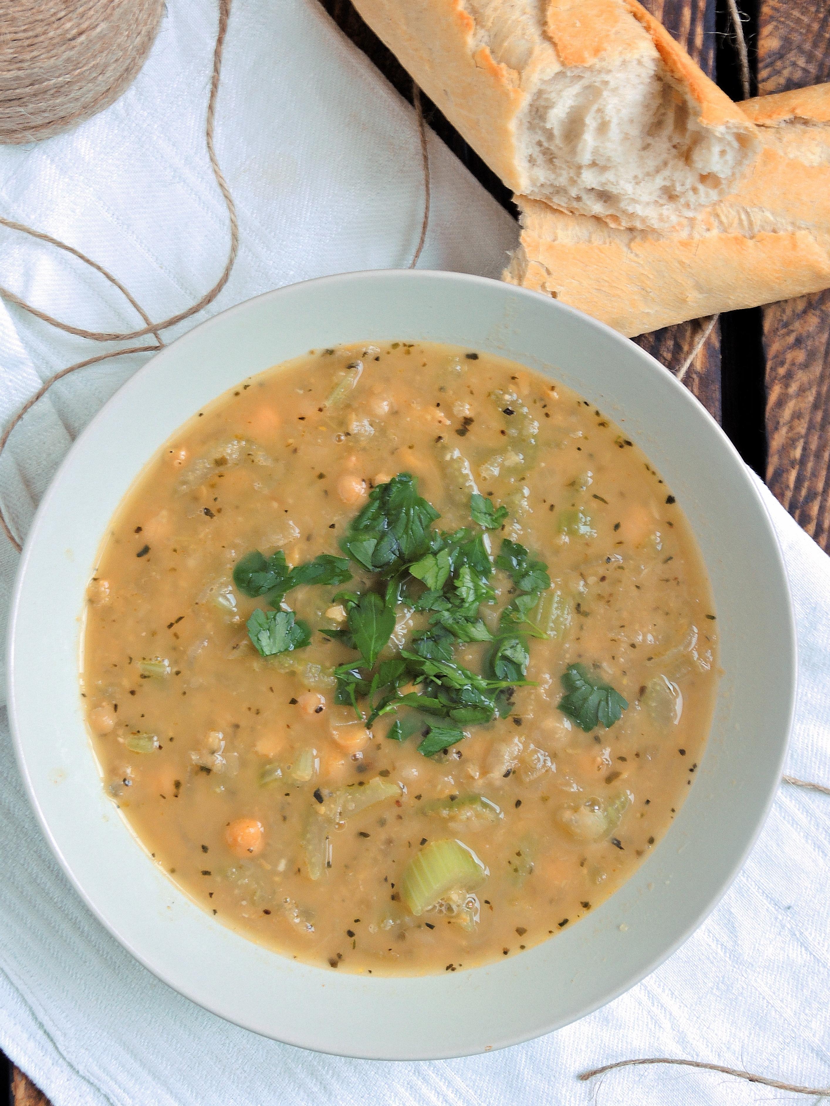 Ciecierzycówka – czyli zupa z ciecierzycy