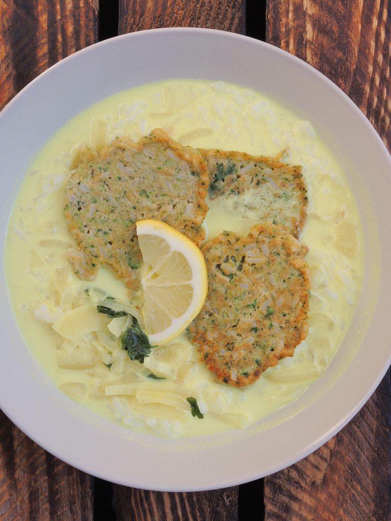 brokułowo-ryżowe wege kotleciki
