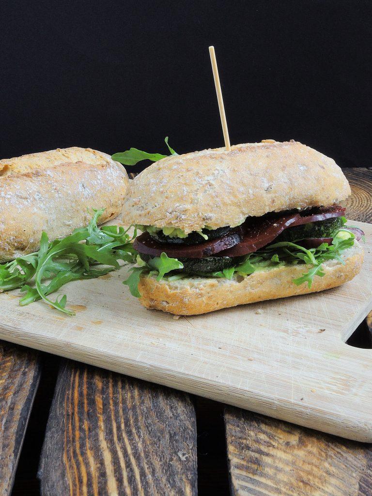 Super warzywna kanapka