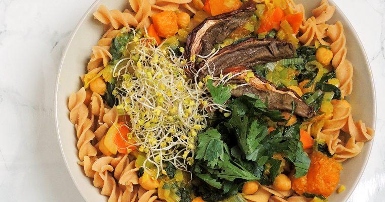 Warzywna zupa w azjatyckim stylu