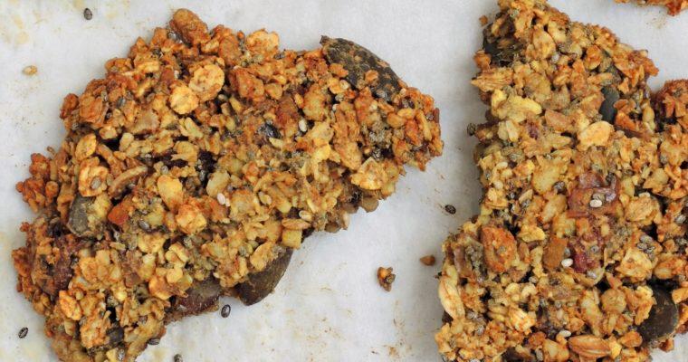 Śniadaniowe ciasteczka owsiane