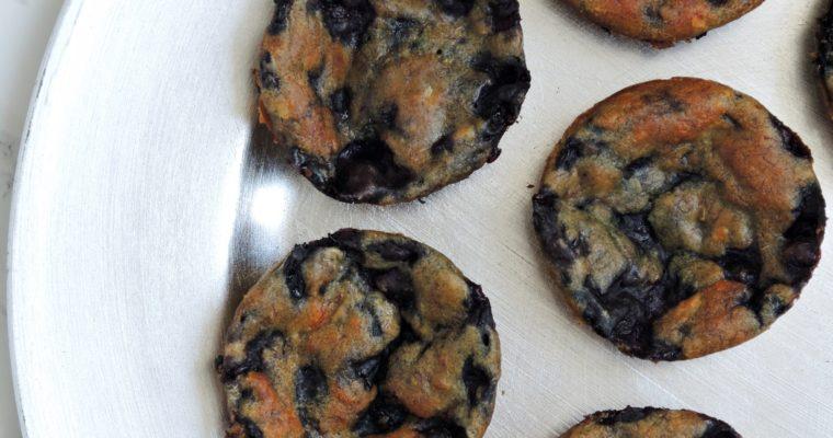 Delikatne muffinki z jagodami na dzień dobry