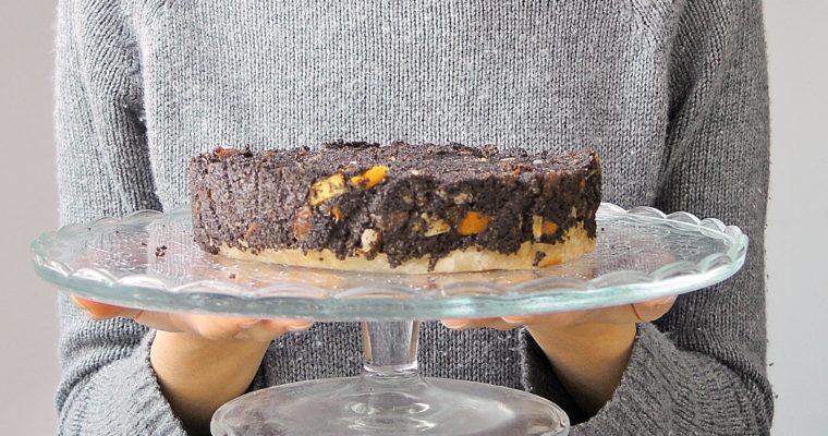 Ciasto makowe na bezglutenowym spodzie