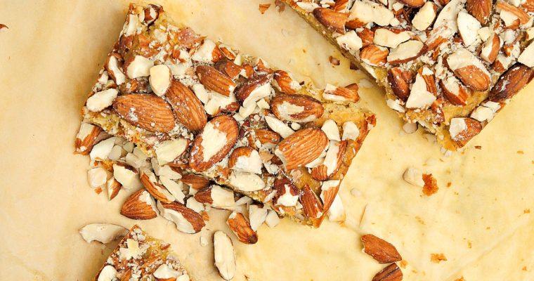 Ciasto Kukurydziane z Migdałami