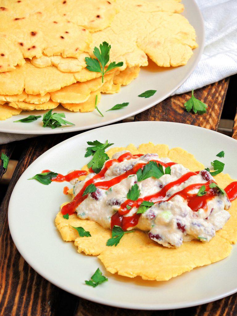 Tortilla z Wegańskim Kremem
