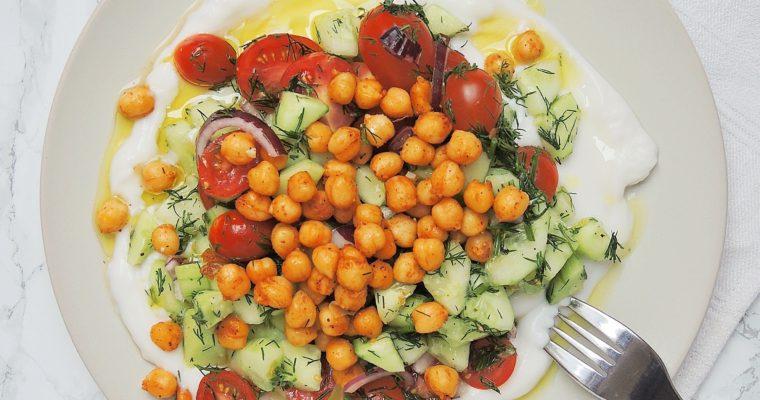 Wiosenny Jogurt z Warzywami