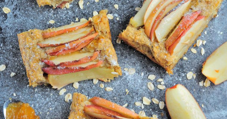 Wegańskie Ciasto z Jabłkami