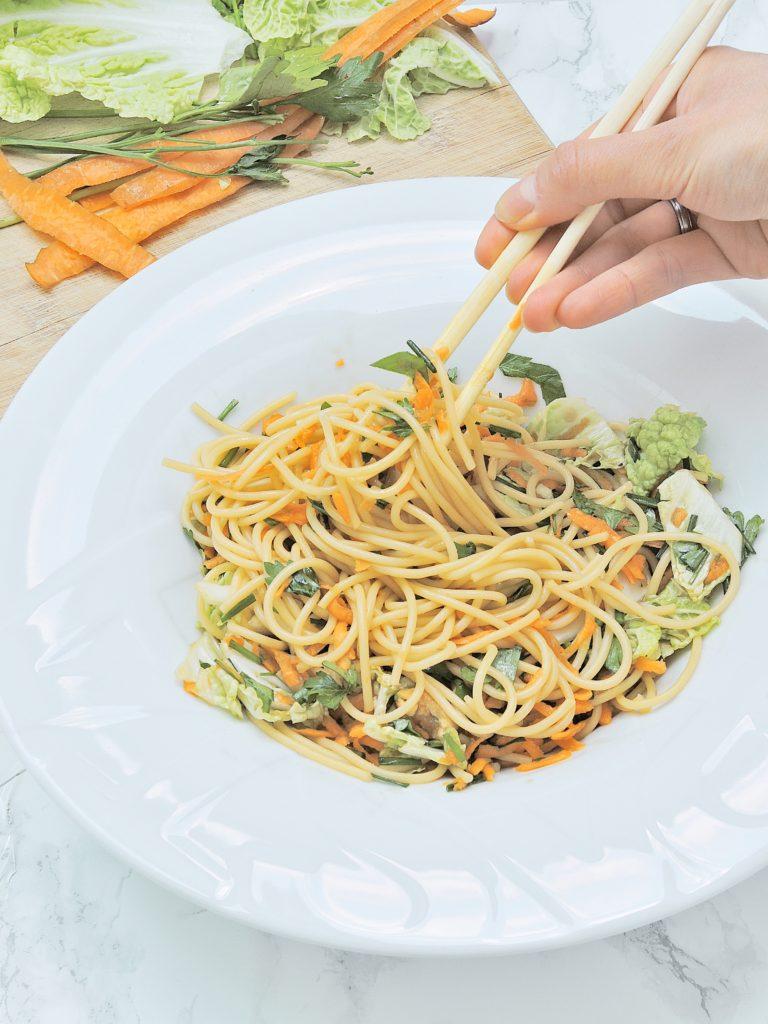 Azjatyckie Spaghetti
