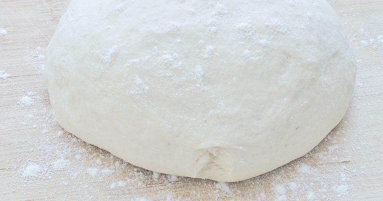 Ciasto na Wegańską Pizzę