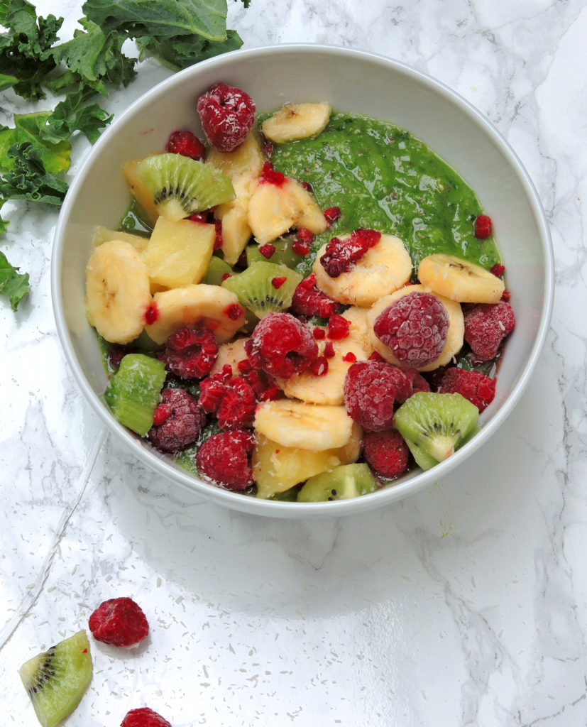 SuperFood Zielone Smoothie Bowl