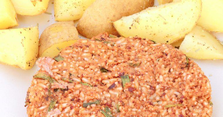 Kotleciki Ryżowo-Fasolowe z Ziemniaczkami