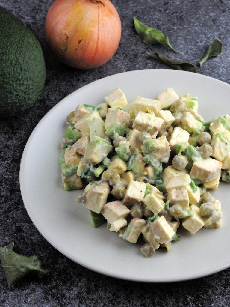Tofu, Awokado i groszek (w polskim, zimowym wydaniu)