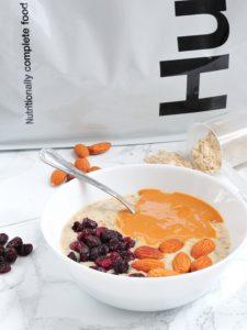 Białkowa Orzechowa Owsianka (mix z proszkiem Huel)