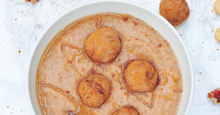 Karmelowe szarlotkowe smoothie