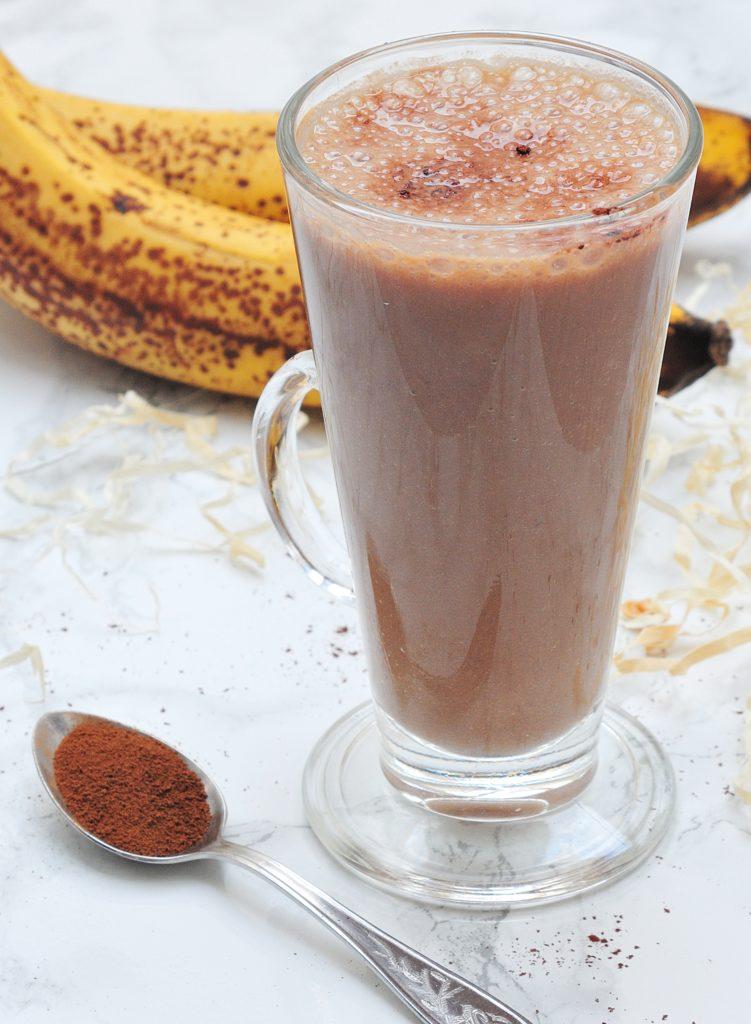 Kakaowo-kawowe smoothie