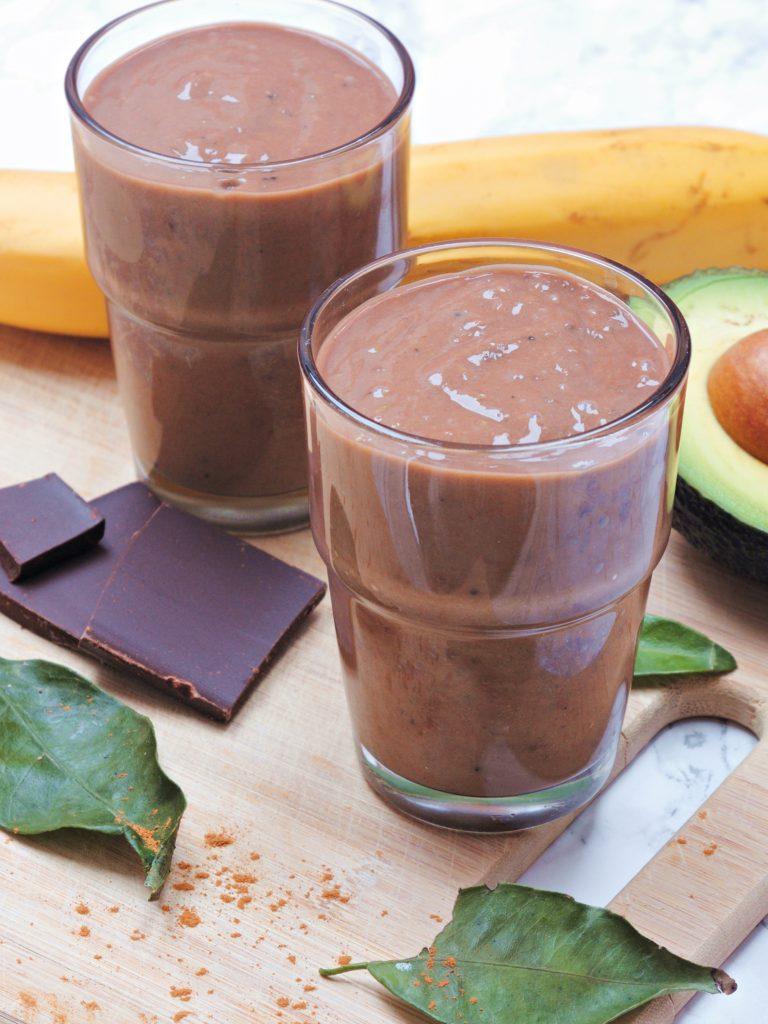 Kakaowe smoothie z awokado