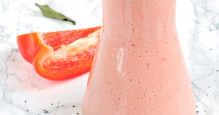 Paprykowo-malinowe smoothie