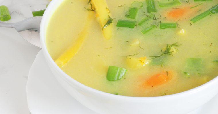 Zupa jarzynowa z fasolką