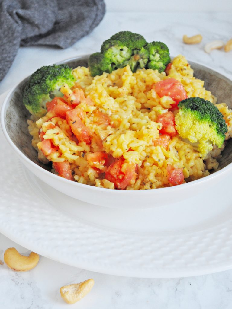 Aromatyczne risotto z szafranem