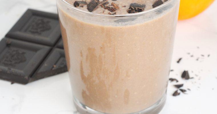Kokosowo-czekoladowe smoothie