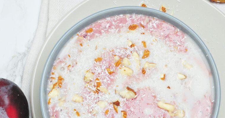 Zimowe smoothie bowl