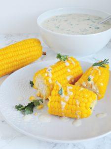 Kukurydza w sosie beszamelowym