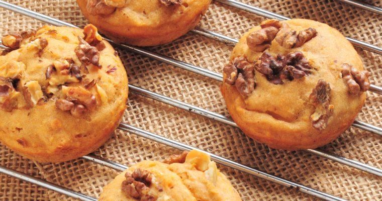 Muffinki z słodkich ziemniaczków