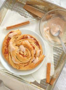 Cinnamon rolls z dynią