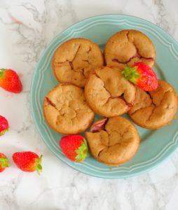 Truskawkowe muffinki