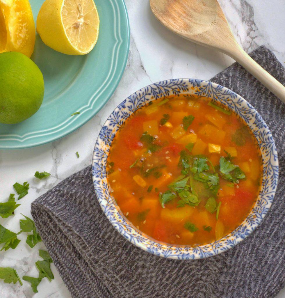 Meksykańska zupa pomidorowa